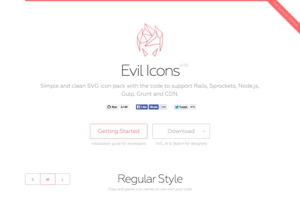Evil Icons