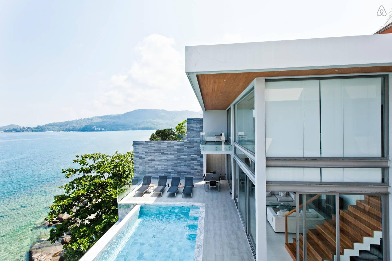 Ocean Front Villa in Thailand2