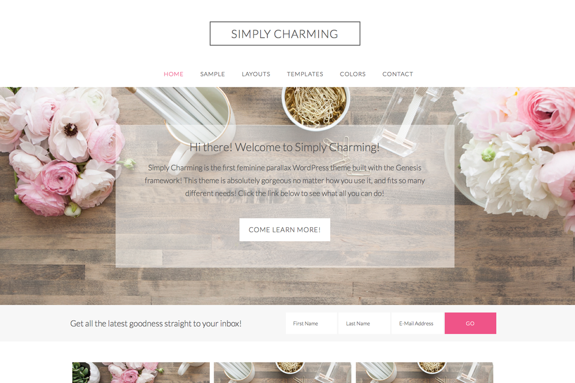 30 Feminine Wordpress Themes for Women | Inspirationfeed