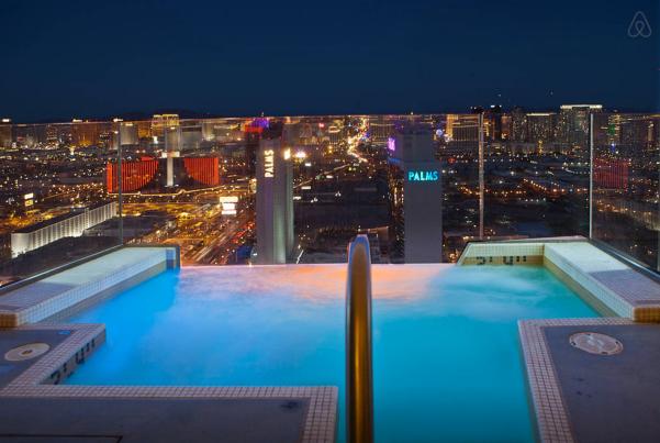 Vegas Luxury Palms Place Penthouse5